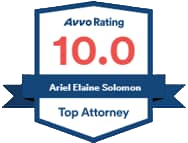 Ariel Solomon - Avvo 10.0 Rating